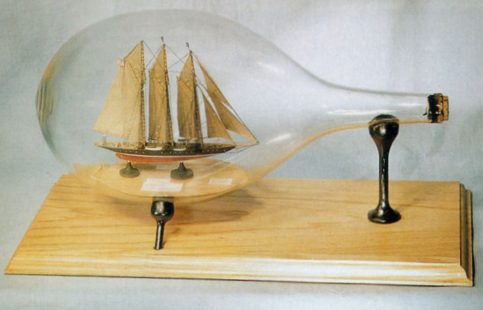 30 Amazing Ship In A Bottle Pictures