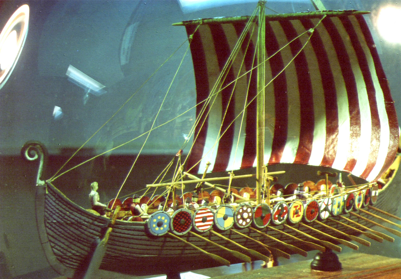 ralph preston u0027s models and bottles the viking ship